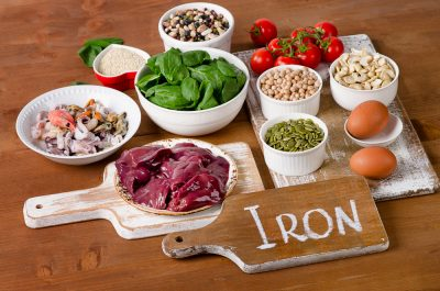 Iron rich food consumed along with Progentra pills