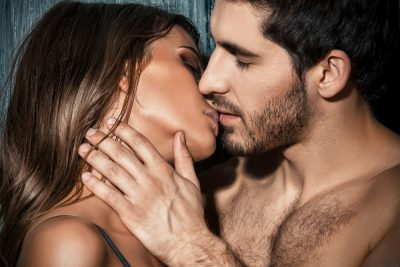 couple kissing increased sex drive by Progentra