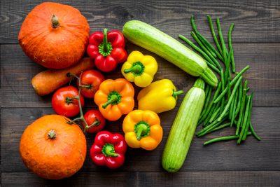 fresh vegetable for plant based diet along with Progentra supplement