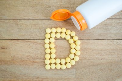 vitamin D tablets taken with Progentra supplements