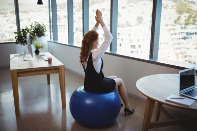 9 Benefits of Using an Exercise Ball as a Chair